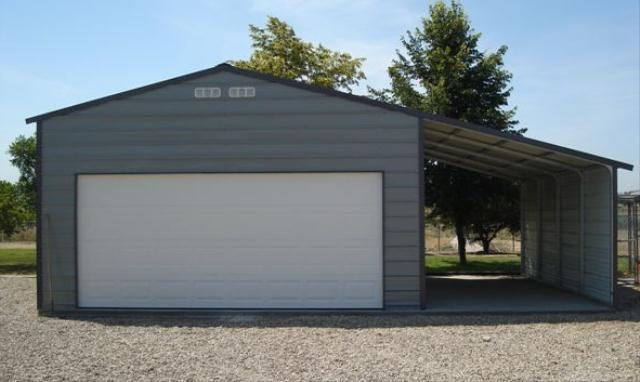 Garages for Garage with lean to